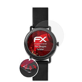 atFoliX 3x Pellicola Protettiva compatibile con Skagen Falster chiaro