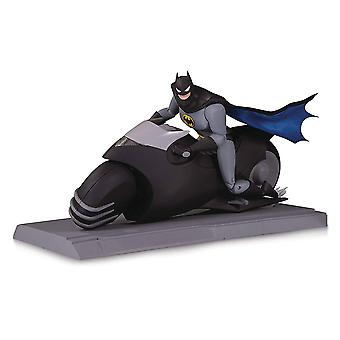Batman den animerede serie Batcycle & Action Figur Set