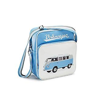 Volkswagen 1H0087319 - T1 Retro Bulli Cross-body bag Color: Blue/White