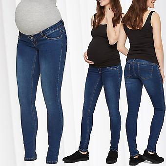 Mamalicious maternity jeans pregnancy skinny maternity wear belly casual