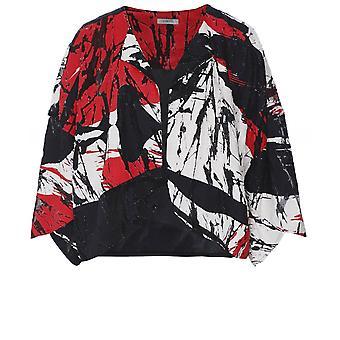 Crea Concept linnen Blend bijgesneden jas