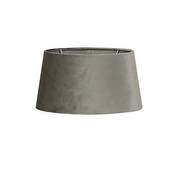 Light & Living Round Shade 21x17.5x12cm Zinc Taupe