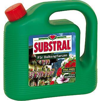 SUBSTRAL® balcony plant food, 2 liters