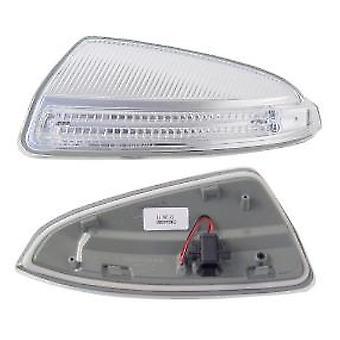 Venstre passager side spejl indikatorlampe til Mercedes C-KLASSE 2007-2011