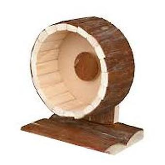 Trixie Natural Living Wood Exercise Wheel