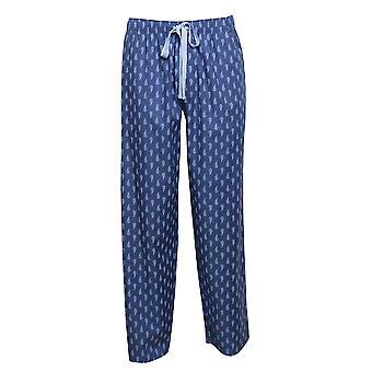 Cyberjammies 6454 Männer's Billy blau Paisley Druck Baumwolle gewebt Pyjama Hose