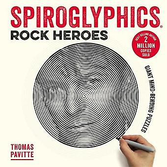 Spiroglyphics - Rock Heroes - Colour and reveal your musical heroes in