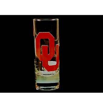 "Oklahoma Sooners NCAA ""Hype"" Tall Shot Glass"