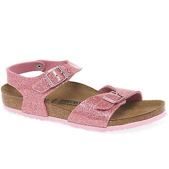 Birkenstock Rio Cosmic Sparkle Girls Sandals