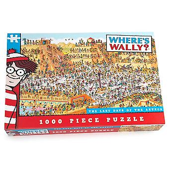 University Games Where's? Wally? The Last Day Of The Aztecs 1000 Piece Jigsaw Puzzle