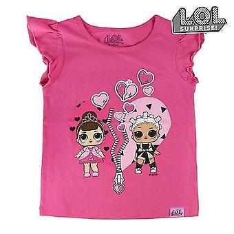 Child's Short Sleeve T-Shirt LOL Surprise! 74095 Fuchsia