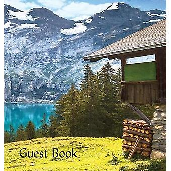 GUEST BOOK Hardback Visitors Book Guest Comments Book Vacation Home Guest Book Cabin Guest Book Visitor Comments Book House Guest Book Comments Book suitable for vacation homes cabins ski l by Publications & Angelis