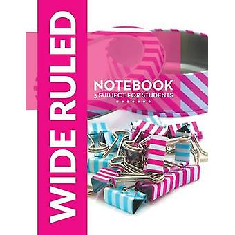 Wide Ruled Notebook  3 Subject For Students by Publishing LLC & Speedy