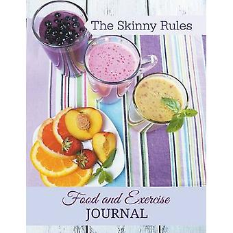 The Skinny Rules Food and Exercise Journal JUMBO size More room to write Bonus Graphing paper is located at the end of the journal Feel free to use this take extra notes paste pictures more go by Journal & Healthy Diet