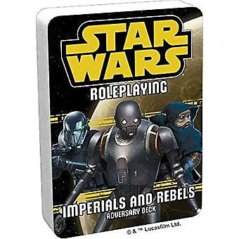 Star Wars RPG Imperials ja Rebels III vastustaja kannella