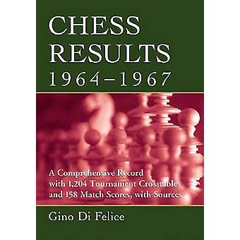 Chess Results - 1964-1967 - A Comprehensive Record with 1 -204 Tournam