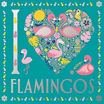 I Heart Flamingos door Felicity French - 9781780556529 Boek