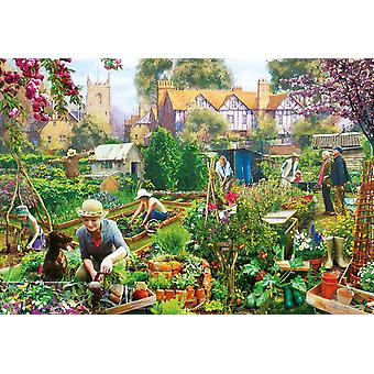 Gibsons Green Fingers Jigsaw Puzzle (500 pieces)