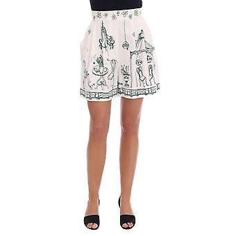 حلو & الأبيض غابانا صقلية الأخضر الدافع السراويل الطباعة-SKI1337200