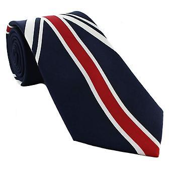 Michelsons van Londen over de hele Unie Jack Design binden - Navy/rood/wit