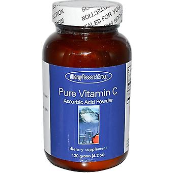 Pure Vitamin C Powder (120 g) - Allergi Research Group