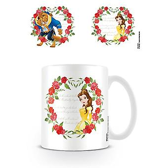 Beauty and the Beast Roses Belle Mugg