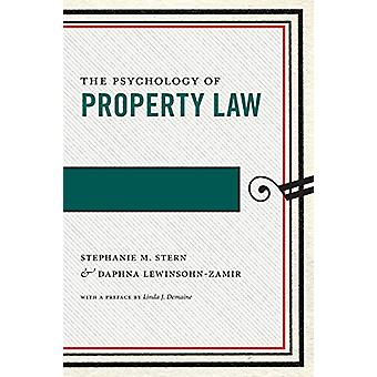 The Psychology of Property Law by Stephanie M. Stern - 9781479878895