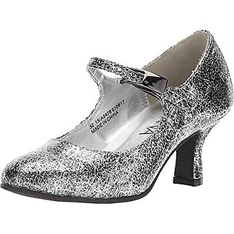 Amiana Tyttö&s 15-A5478 (Little Kid /Big Kid/Adult) Silver Pico Metallic 35 (US...