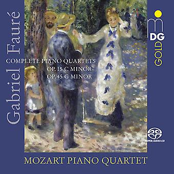Complete Piano Quartets [SACD] USA import