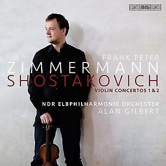Shostakovich / Ndr Elbphilharmonie Orchester - Shostakovich: Violin Concertos 1 & 2 [SACD] USA import