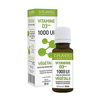 Vitamin D3 ++ 1000 IU Vegetable 20 ml