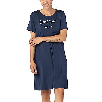 Mey Serie Sleepy&Easy 16408-388 Women's True Blue Nightdress