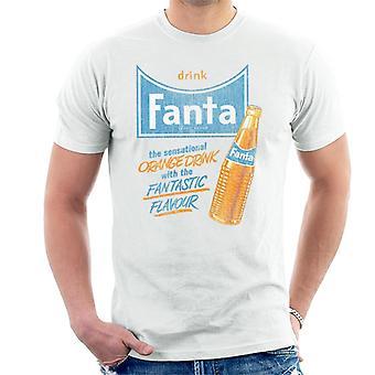 T-shirt dos homens do sabor fantástico da bebida Fanta 1960s