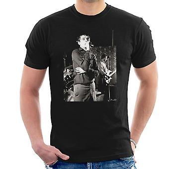 Ian Curtis de Joy Division chant à Vale de Bowdon Youth Club T-Shirt homme