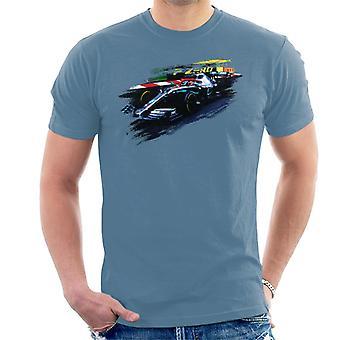 Motorsport bilder Lewis Hamilton på Monaco GP AMG F1 W10 män ' s T-shirt