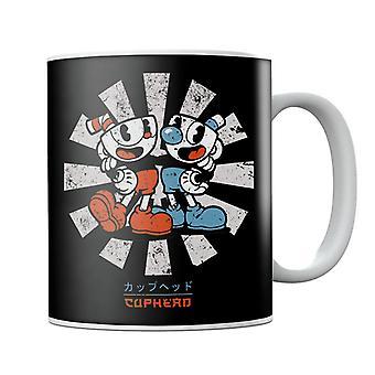 Cuphead Retro Japanese Mug