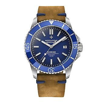 Meccaniche Veneziane 1302004 Nereide Blue Bezel Automatic Wristwatch