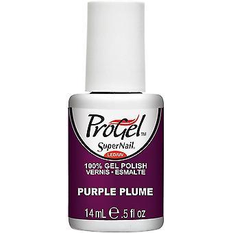 SuperNail ProGel Gel Nail Polish - Purple Plume 14ml