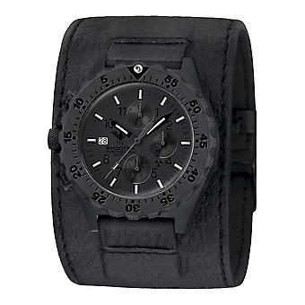 KHS - Men's Watch - Shooter MKII Chronograph Leather Strap - KHS. SH2CXTHC. Lk