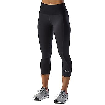 Ron Hill Womens Momentum Sculpt Skin Fit Running Crop Tights