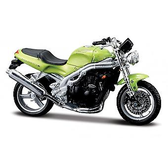 Maisto Special Edition Motorbike 1:18 Triumph Speed Triple Green