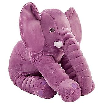 40cm/60cm Height Large Plush Elephant - Doll Toy Kids  Sleeping Back Cushion  Cute Stuffed Gift