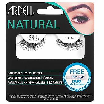 Ardell Wispies Lightweight False Eyelashes - Demi Wispies Lashes with Duo Glue