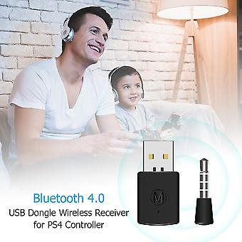 3.5mm Bluetooth Dongle Usb 4.0 Adapter Receiver For Ps4 Playstation 4 Controller Gamepad Console Games Accessories