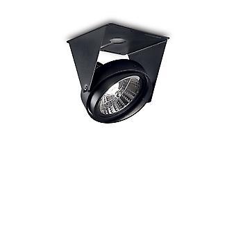 1 soffitto leggero nero chiaro, GU10