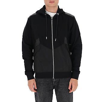 Les Hommes Ljh501756d9000 Men's Black Cotton Sweatshirt