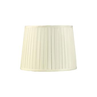 30 Cm Fabric Conical Lampshade Ivory
