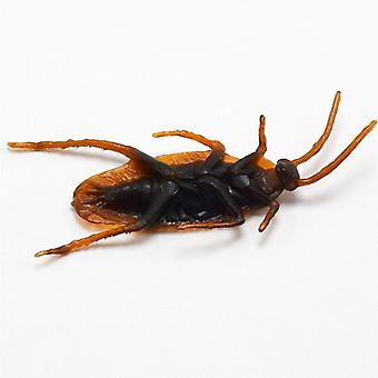 5pc Fake Cockroach-realistic Insects Toy