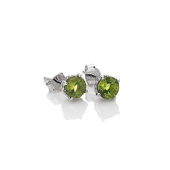 Anais Hot Diamonds Anais August Peridot Earrings AE008