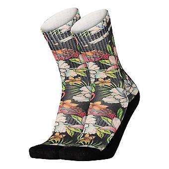 Pullin Long Socks - Camo Flower